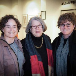 "Judy Smooke with ""The Invisible War"" subject, Amy Lou and Trina McDonald"