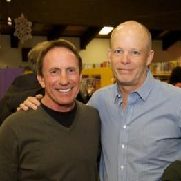 Steve Gaggero and Dr. Peter Curran at reception following Bonni Curran Memorial Lecture