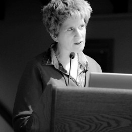 "Kate Gilmore, Deputy Executive Director of the United Nations Population Fund, delivers a public lecture on ""Women and War"""